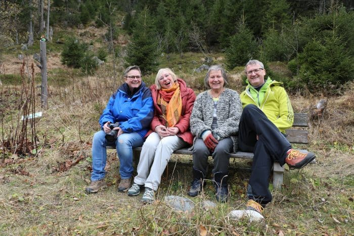 Waldexkursion im Stubachtal/Uttendorf