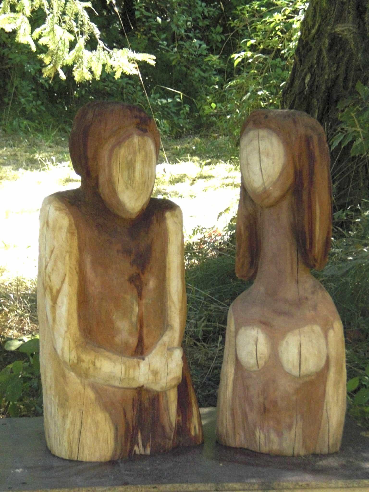 Holzarbeit von Ute Richter