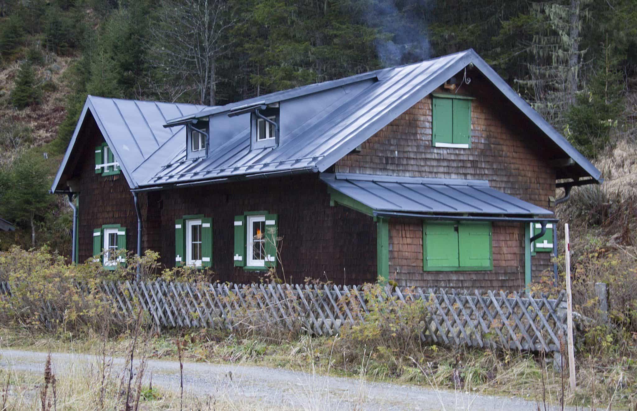 Hütte im Stubachtal