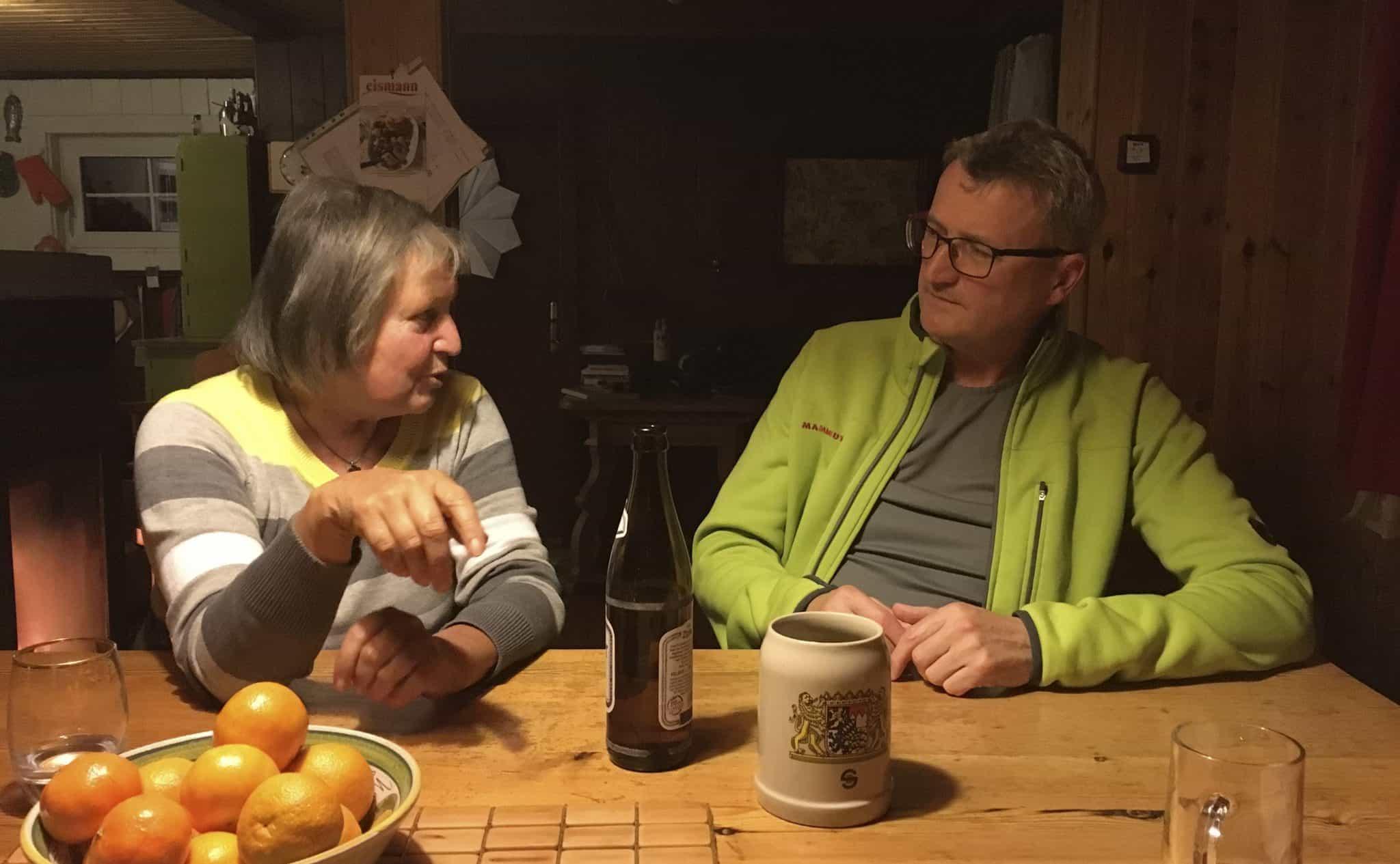 Rosa Zschau und Lutz Walczok