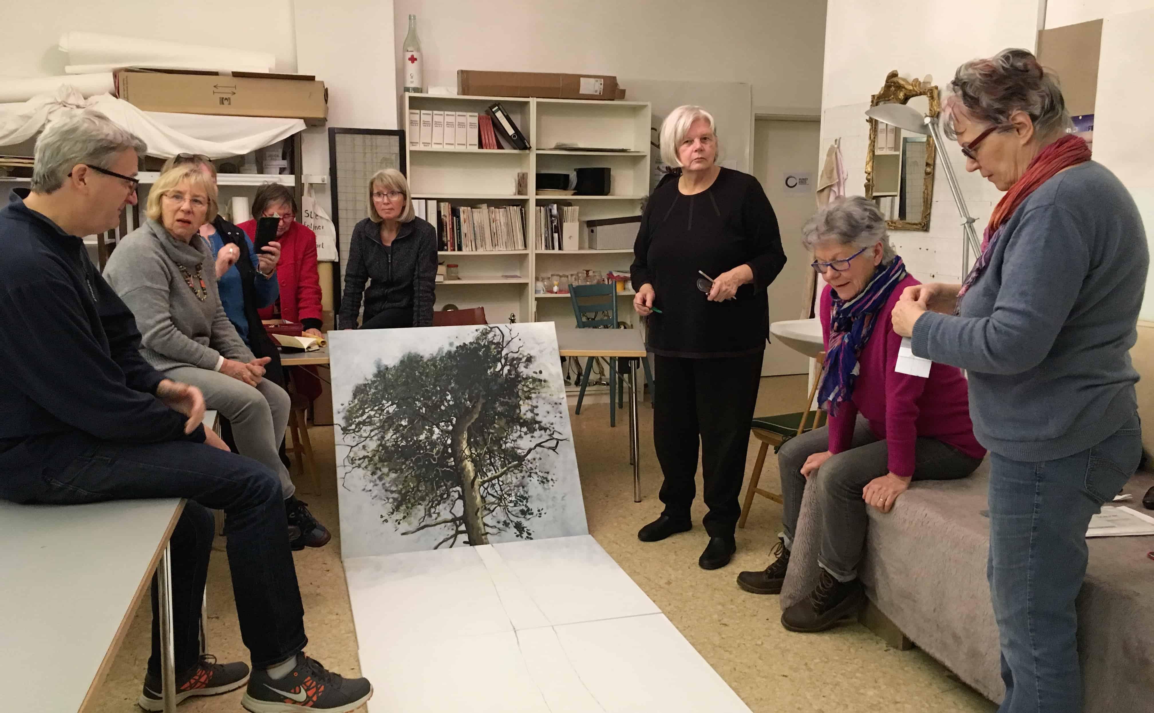Kreativtreffen Künstlergruppe MAGIC FOREST